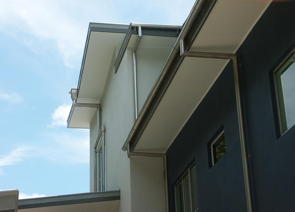 Lysaght 150mm Half Round Gutter Slotted Colorbond Roofers