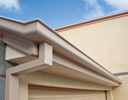Stratco 115 Hi Front Quad Gutter Plain Colorbond Roofers