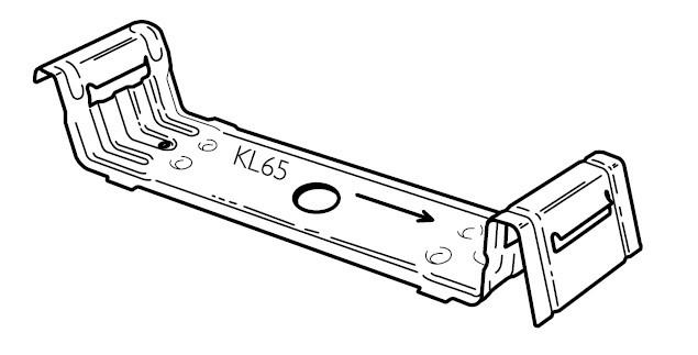 Lysaght Kliplok 406 Clips Concealed Fixing Metal