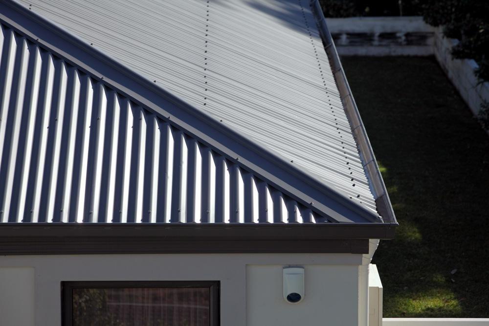 Lysaght Hi Front Quad Gutter Slotted Zincalume Roofers Online