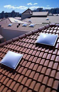 Skydome Original Skylight To Suit Tile Roof Acrylic