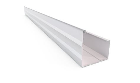 Stratco Vf Square Gutter Slotted Colorbond Fascia Gutter