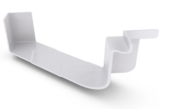 Stratco 115 Low Front Quad 2 Piece Internal Cast Angle 90