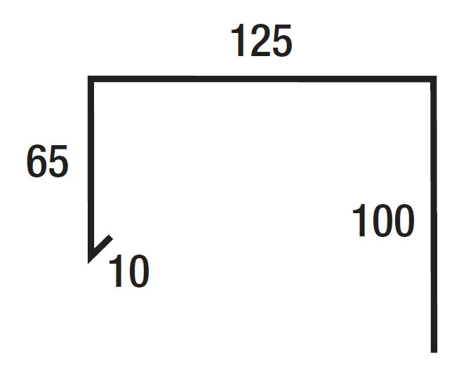 Stramit P7 Parapet Capping Colorbond - Walling - Flashing