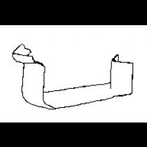 Metroll Low Front Quad External Corner 45° Zincalume