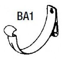 Stramit 150 Half Round BA1 Bracket Colorbond