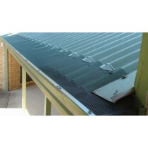 Leaf Stopper Corro 15m Gutter Edge Std Mesh Colorbond