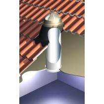Skydome Skytube 250 To Suit Concrete Tile