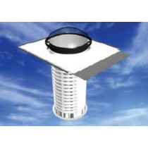Skydome Flex400 Skytube with Skyflex To Suit Metal Deck Roof Flex Shaft