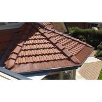Leaf Stopper Tile 30m Gutter Edge Std Mesh Colorbond