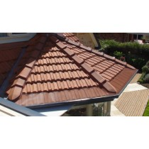 Leaf Stopper Tile 15m Gutter Edge Std Mesh Colorbond