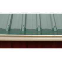 Leaf Stopper Deck 10m Gutter Edge Std Mesh Colorbond